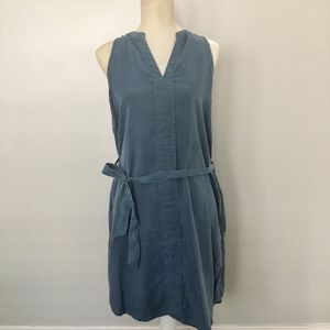Max Jeans Chambray Denim Tunic Dress